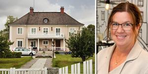 Efter 15 år har Annika Eriksson och hennes familj tagit beslutet att lämna Lundhammarsvillan – Tierps kanske mest kända villa.