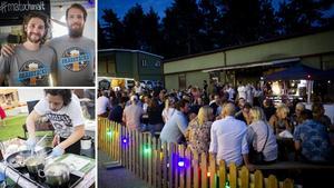 Förra sommaren hölls evenemanget Mat & malt till på Östra berget.