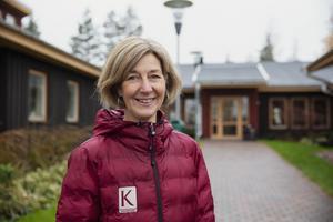 – Det är roligt att bidra med någon annat än pengar, säger Kopparstadens Annika Stålberg.