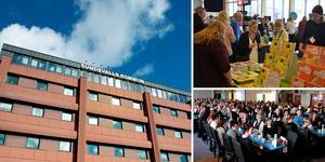 Sundsvalls kommun har arrangerat konferensen Mittlärande (övre bilden) i sex år och galan Framtidsmyran (nedre bilden) i sju år.