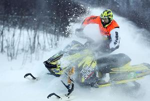 Tim Strandberg, Tavelsjö SK, vann äldre ungdomsklassen