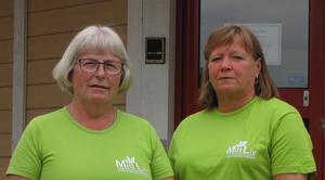 Eva Gottvall Bruno, verksamhetschef, och Anita Andersson, verksamhetledare på MittLiv i Nordanstig.  Foto: MittLiv AB