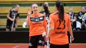 Lina Hägg är Sundsvalls IBFs klart bästa poänggörare – och nu är laget klart för SSL-kval.