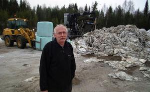 Karl-Erik Dahlgren, plastpappa i Krångede.