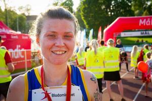 Zara Lundgren, Nordanstig, vann damernas tiokilometerslopp på tiden 41.09.