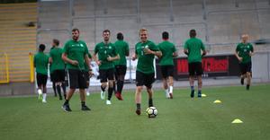 VSK:s Dennis Persson höll igång med träningen under semestern