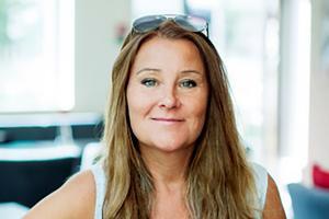 Karin Dimander Lannergård, sälj- och marknadsansvarig på Riksbyggen. Pressbild