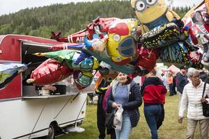 Nätra Marknad höll traditionsenligt till på ängarna intill Kornsjöstrand.