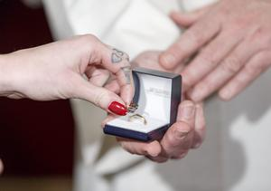 Drop in-bröllop. Foto: Gorm Kallestad