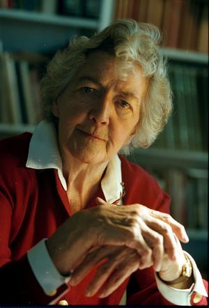 Agda Rössel gick 2000 bort 90 år gammal . Foto: Pål Sommelius/SCANPIX