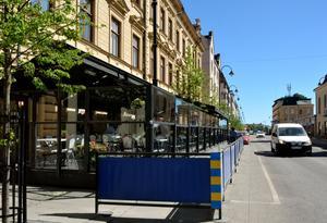 Händelsen utspelade sig på Biteline på Köpmangatan.