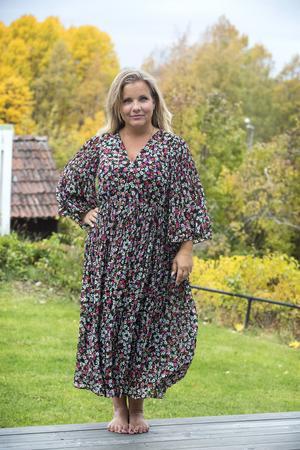 """""""Bästa sättet att vara snygg är att välja att känna sig snygg"""" säger Savita Norgren som tröttnade på att skämmas."""