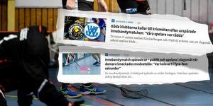 På måndagskvällen går såväl Klockarberget som innebandyförbundet vidare med skandalmatchen.