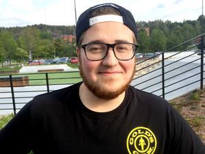 Joakim Sandblom, 26, driftledare, Sundsvall: