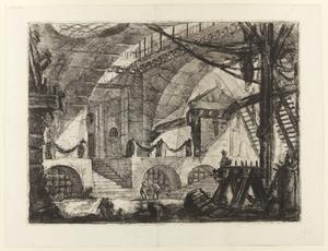 Tolfte gravyren i Giovanni Battista Piranesis serie