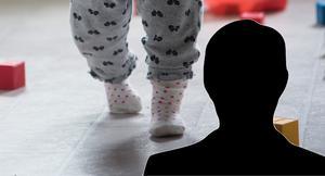 Pappan misstänks för misshandel av två barn, hans son ska bara ha varit fyra år när slagen började komma.
