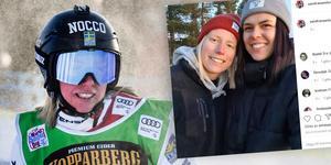Sandra Näslund visade upp kärleken Hanna i november.