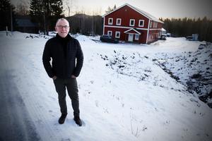 Stefan Anderssons  Höga kusten teknikresurs siktar på att fördubbla fastigheten för att få större verkstad och större kontor.