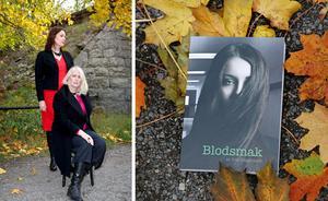 Eva Häggmark och Christina Öst har startat förlaget Dystopia. Den 23 november kan du träffa dem på Södertäljebyrån under boksläppet av Evas roman Blodsmak. Bild: Lazze Öst