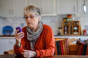 En av tio svenskar har drabbats av bluffsamtal.Foto: Per Larsson / TT