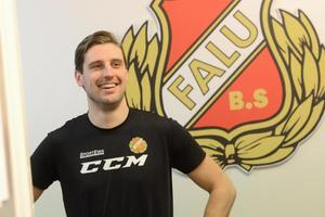 Daniel Bäck är inne på sin andra säsong i Falu BS.