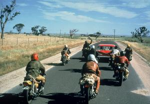 Motorcykelgäng terroriserar den australiensiska befolkningen i