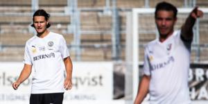 Helmer Andersson fick göra debut i allsvenska när ÖSK krossade Falkenberg. Foto: Johan Bernström/Bildbyrån