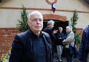 Carl-Magnus Gagge vid invigningen av Krampen museet i Skinnskatteberg 2013. Foto: Seth Jansson