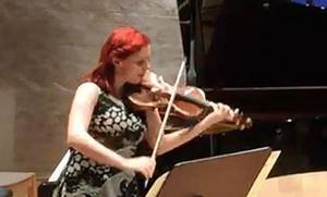 Victoria Stjärna, violinist.