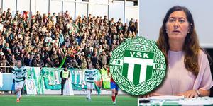 VSK Bandys ordförande Gisela Stockhaus medger för Sporten och Bandypuls att skulden till VSK Fotboll har växt.