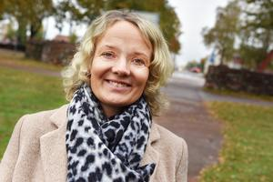 Maria Bälter, affärsutvecklare inom Visit Dalarna, berättar att de har hand om priset årets upplevelse. De uppskattar att varje år få sätta fokus på de nominerade som alla bidragit till att stärka turismen.