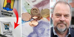 Insändarskribenten menar att  det är nonsens att skylla på social dumpning som en orsak till Kramfors dåliga ekonomi. Foto: Foto: Janerik Henriksson/Scanpix, Erik Åmell, TT samt Anders Lidén. Montage: Birgitta Strandh.