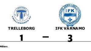 IFK Värnamo vann borta mot Trelleborg