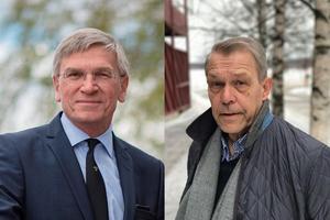 Peter Eklund (till vänster) avgår som vd för Bergkvist-Insjön efter årsskiftet och ersätts av Anders Nilsson (till höger).Foto: Privat