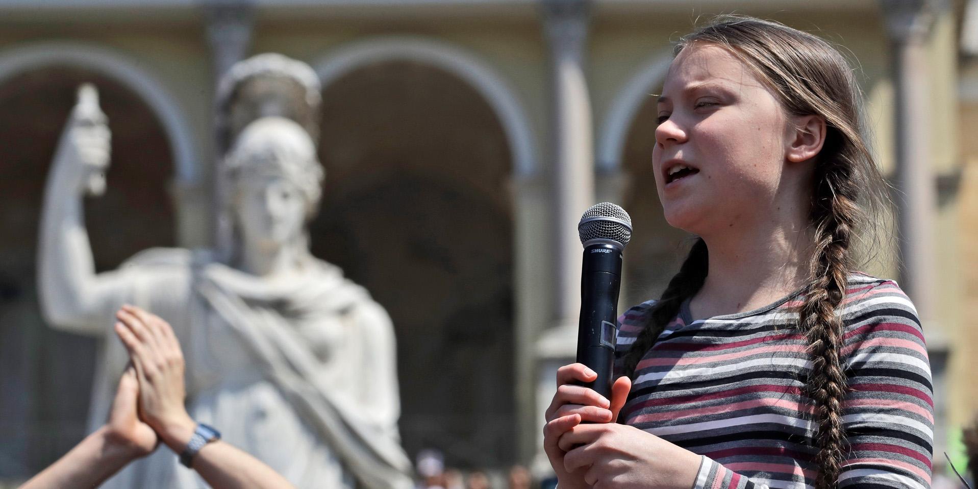 Insändare: Freden skulle behöva många Greta