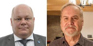 SD-politikerna Erik Palmqvist, riksdagens näringsutskott, Bertil Fredriksson, Fagersta, kräver tillsammans med Ewa Olsson Bergstedt, Skinnskatteberg