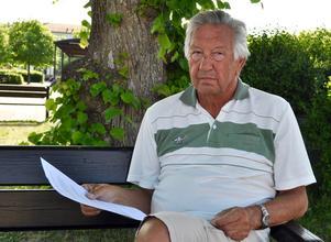 Jan-Olov Adolfsson har skrivit en motion om biokol.