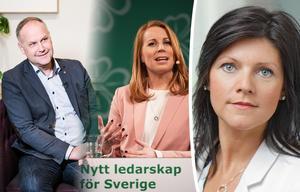 Eva Nordmark, ordförande för TCO, vill skicka med Jonas Sjöstedt och Annie Lööf några frågor inför måndagens debatt i Sundsvall. Bild: TT / TCO