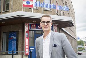 Oskar Nord, ny chefredaktör på Tidningen Ångermanland.