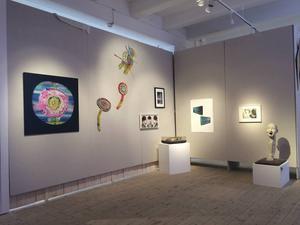 """Olika rum ger olika ingångar till höstsalongens tema. Här är """"inspirationens och rörelsens rum""""."""