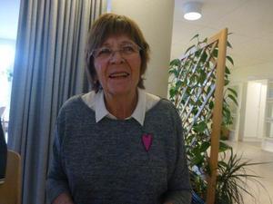 Ann-Marie Eriksson var gäst hos PRO Hudiksvall. Foto:  Lars Norlander.