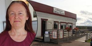 Marina Rosén börjar nu sälja av sina stora prylsamling i Skävemackens lokaler.