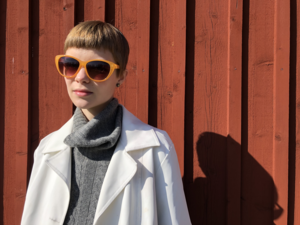 Årets Lars Gustafsson-stipendiat Ellen Nordmark har skrivit diktsviten