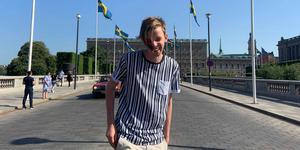 """""""Låt oss fortsätta vara det varma och välkomnande län vi alltid har varit"""" skriver Gustav Tällberg (C) Vansbro. Foto: Idil Tuysuzoglu"""