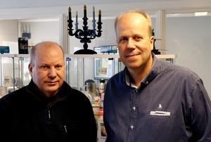 Thomas och Mikael Strand. Arkivbild 2019. Michael Landberg.