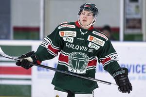 Vem är snabbast av Emil Forslund och Brynäs andre snabbskrinnare Daniel Mannberg? Foto: Jonas Ljungdahl/Bildbyrån