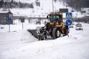 Det är framkomlighet i de större orterna i Hudiksvalls kommun.