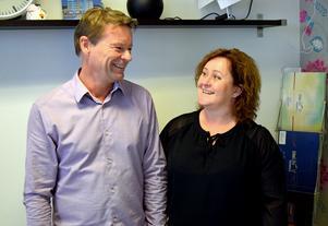Peter Norrström och Anna Nilses trivs med tillvaron.