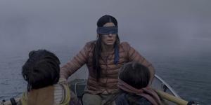 Sandra Bullock måste bära ögonbindel för att överleva i filmen
