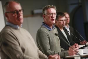 Vi har en ökande spridning i alla åldersgrupper just nu, säger statsepidemiolog Anders Tegnell. FOTO: TT.